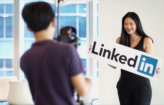 LinkedIn Open House Corporate Video Singapore AWsome Media